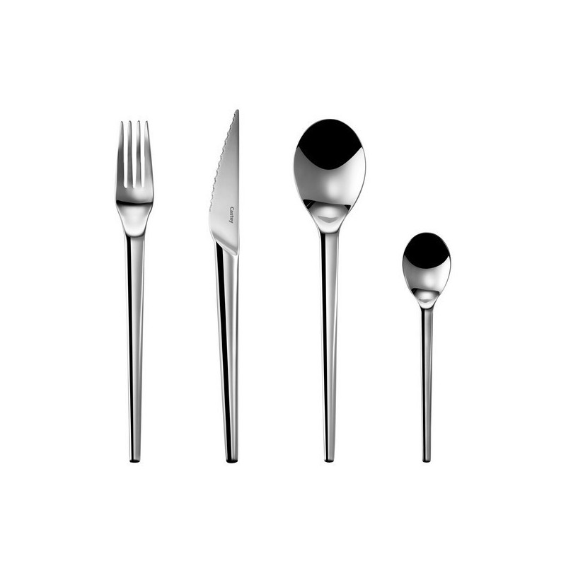 Cubertería básica de mesa acero inoxidable 18/10 colección Senso