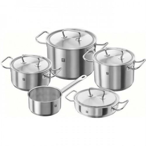 Batería de cocina de acero inoxidable 5 piezas Twin Classic